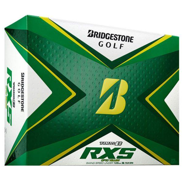 bridgestone tour b rxs golf balls