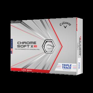 chrome soft x ls triple track golf balls