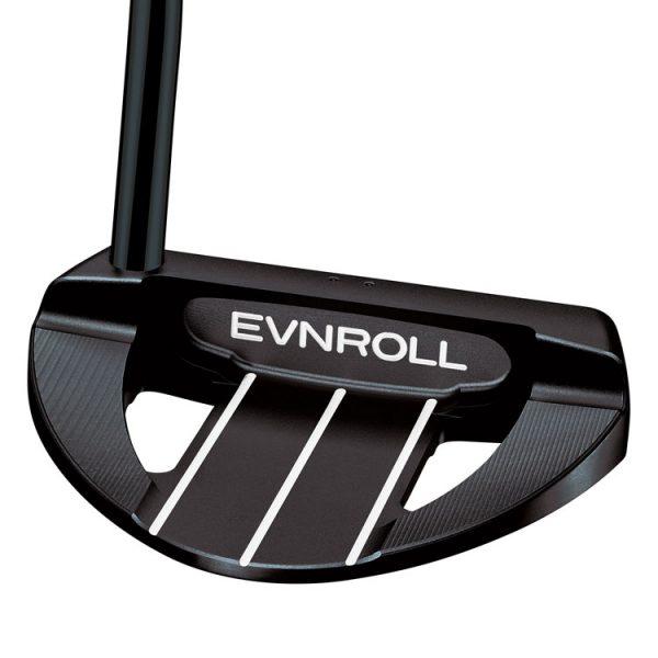 evnroll er7 full mallet black golf putter