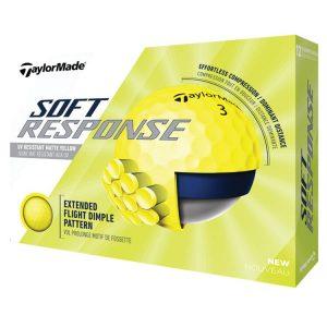 taylormade soft response matte golf balls