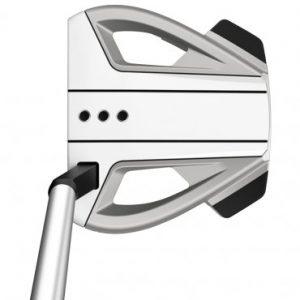 taylormade spider ex 3 platinum white short slant golf putter