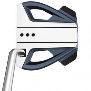 taylormade spider ex navy white single bend golf putter
