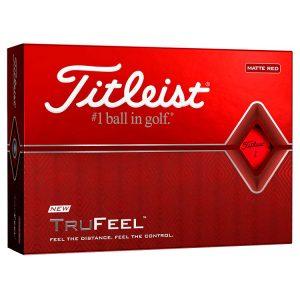 titleist trufeel matte golf balls