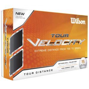 wilson tour velocity distance golf balls