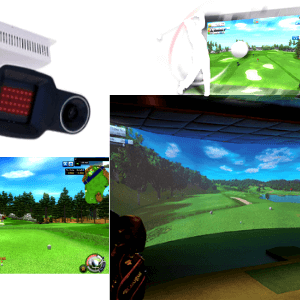 bravo bv21 overhead high speed sensor golf simulator