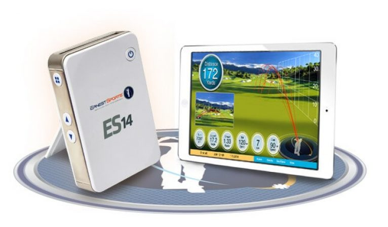 es14 portable golf launch monitor
