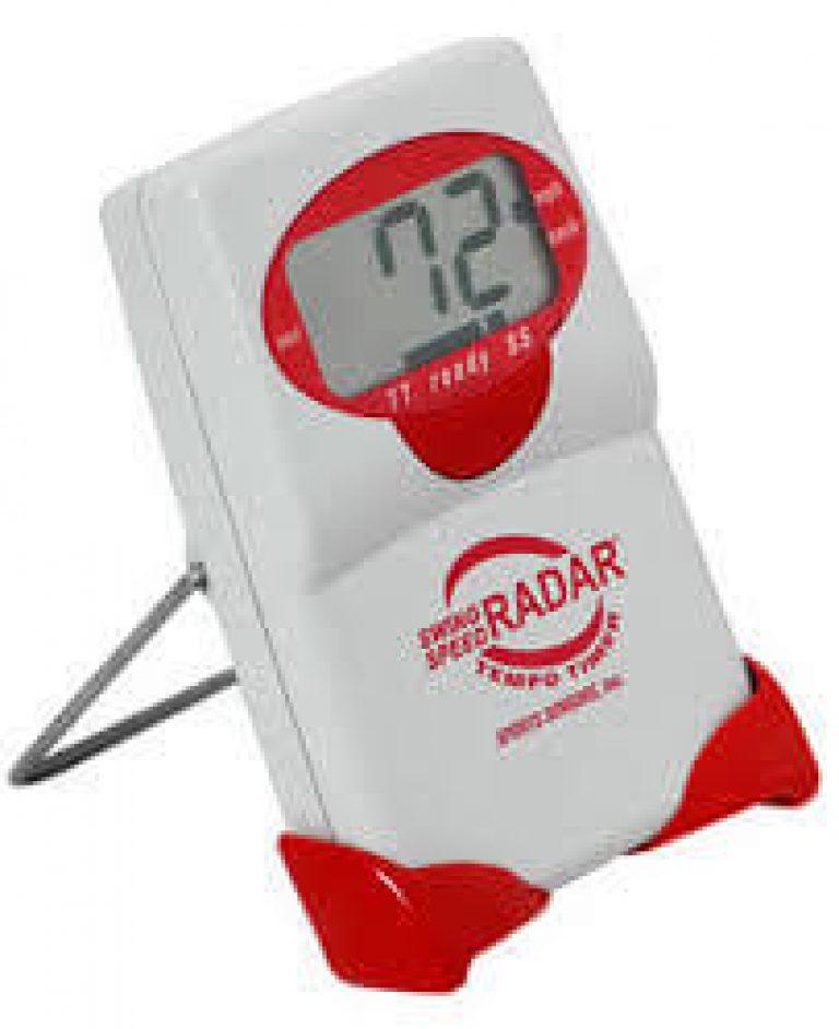 swing speed radar with tempo